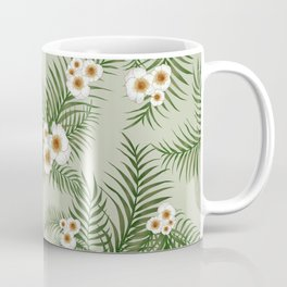 Vintage Jungle Pattern #society6 #decor #buyart Coffee Mug