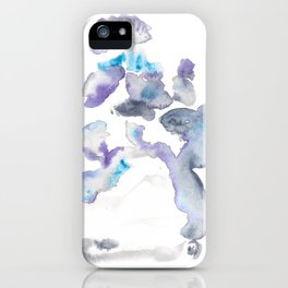 141203 Abstract Watercolor Block 68 iPhone Case