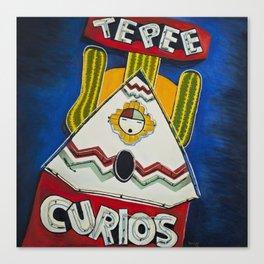 TePee Curios Canvas Print