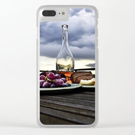Rosé in the Storm Clear iPhone Case