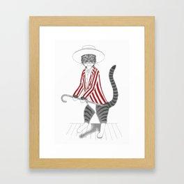 Dancing Bix Framed Art Print