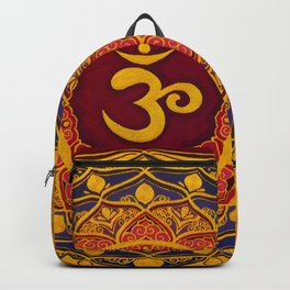 OM MANDALA BY ILSE QUEZADA Backpack