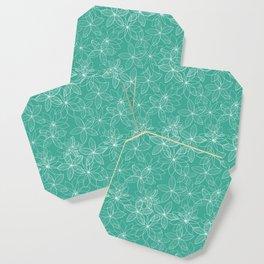 Floral Freeze Mint Coaster
