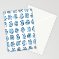Pig family Stationery Cards