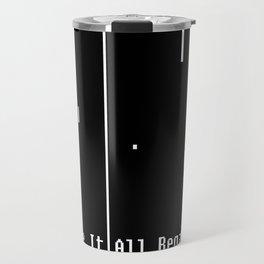 Pong: Where It All Began Travel Mug
