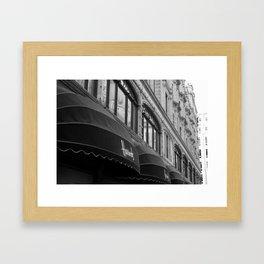 Front of Harrods  Framed Art Print