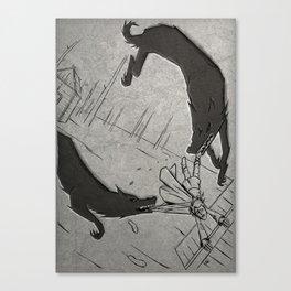 Oskoreia (the wild hunt) 3 Canvas Print
