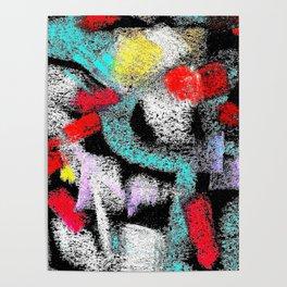 osile multicolor multicolor Poster