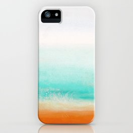 Waves and memories 02 iPhone Case