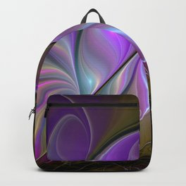 Come Together, Abstract Fractal Art Backpack