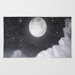 Touch of the moon II Rug
