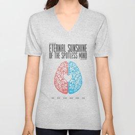 Eternal Sunshine of the Spotless Mind - Alternative Movie Poster Unisex V-Neck