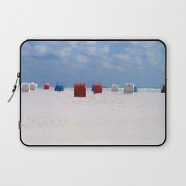 The storm has gone Laptop Sleeve