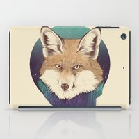 jon snow iPad Cases featuring Fox by Laura Graves