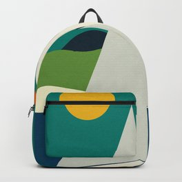 mid century sails Backpack