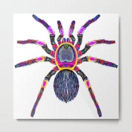 Expresionist Spider Metal Print