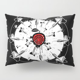 Abstract installation on the theme of darts. Pillow Sham