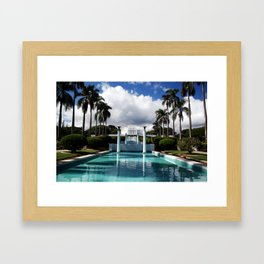 Hawaii LDS Temple Framed Art Print