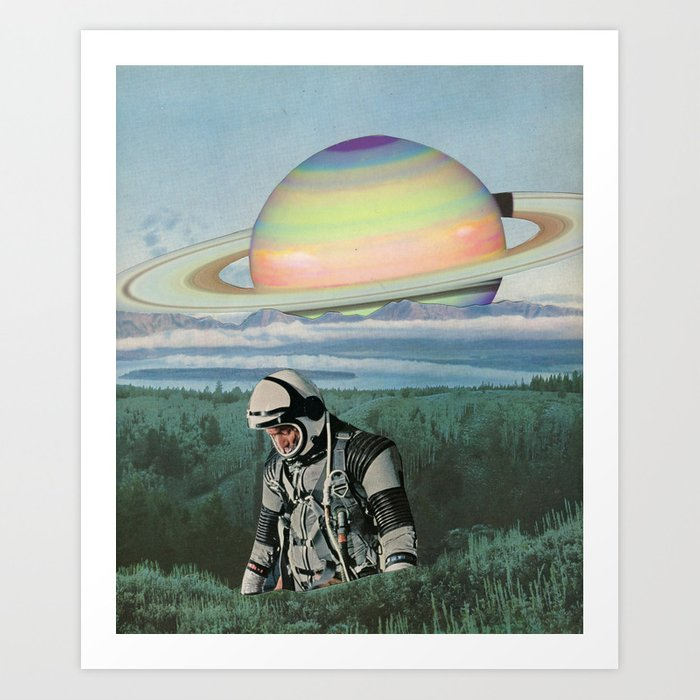 Searching Art Print