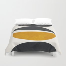 abstract minimal 23 Duvet Cover