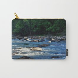A Creek and Forest in West Virginia  Carry-All Pouch