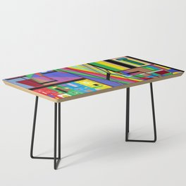 Geometry Abstract Coffee Table