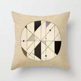 Irregular Sequence Throw Pillow