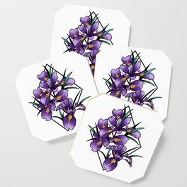 Oregon iris Coaster