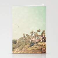 west coast Stationery Cards featuring West Coast 1 by Sylvia C