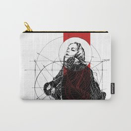 Red Lines. T. Golden Ratio. Baphomet. Yury Fadeev Carry-All Pouch