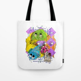 Pacman Tote Bag