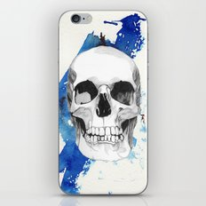 Skull party iPhone & iPod Skin