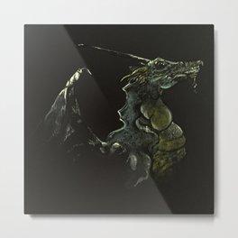 Illuminated Metal Print