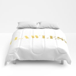 Flawless (Gold) Comforters