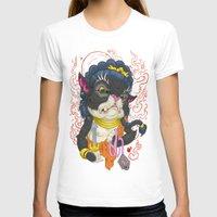 mew T-shirts featuring Fudo Mew by TaraQuinnTattoos