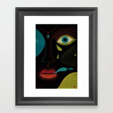 Voodoo Love Framed Art Print