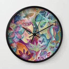 Divine Union by Justine Aldersey-Williams Wall Clock