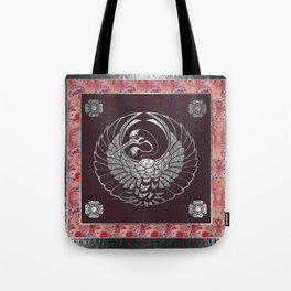 Japanese Swan Traditional 2 Motif Tote Bag