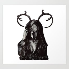 The Houska Devil Art Print