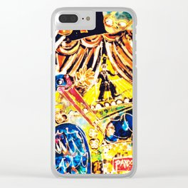 Christmas Showtime           by Kay Lipton Clear iPhone Case
