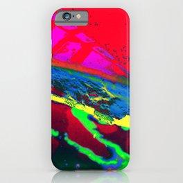 Radioactive Pie iPhone Case