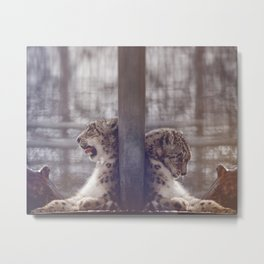 Double Take Metal Print