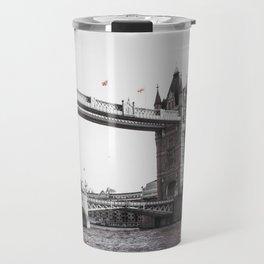 London Bridge Black & White Travel Mug