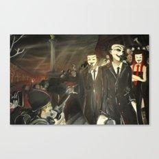 except us - Anonymous Canvas Print
