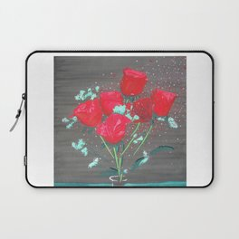 Abstract water color rozes Laptop Sleeve