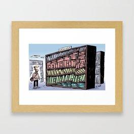 Geology Shelf Framed Art Print