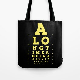 Jed Eye Chart Tote Bag