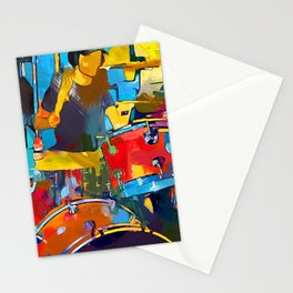 Drummer Stationery Cards