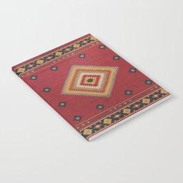 N14 - Red Anthropologie Oriental Moroccan Traditional Artwork. Notebook