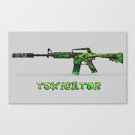 Toxicator Canvas Print